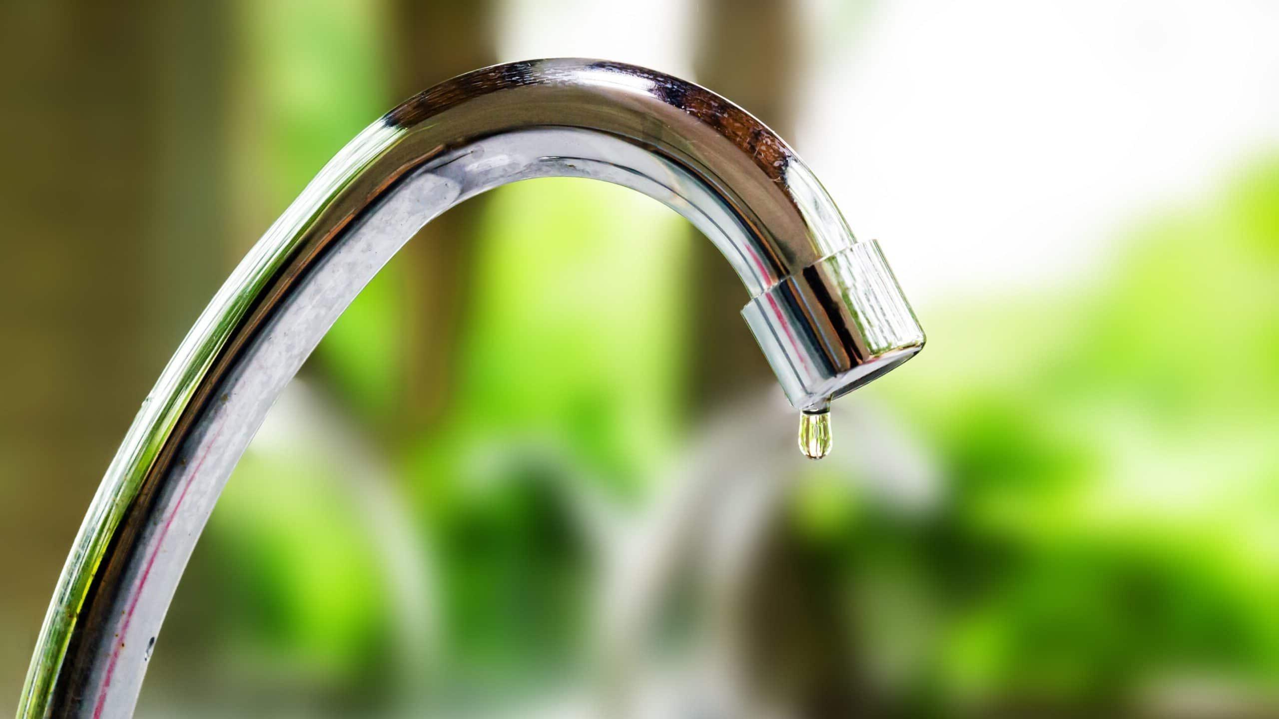 Un robinet qui fuit